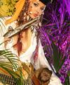 Monkey loves erotic armed pirate girl