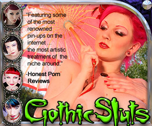 Gothic Sluts, Gothic Sluts has all the hottest Sexy Goth Girls!